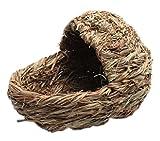 Natural-Outdoor-Rabbit-Hutch-Straw-Mattress-Hand-Made-Straw-House