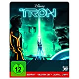 "Tron Legacy [Steelbook] [Digital Copy + Blu-ray 3D] [Limited Edition]von ""Garrett Hedlund"""