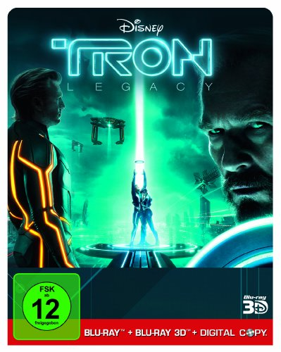 Tron Legacy [Steelbook] [Digital Copy + Blu-ray 3D] [Limited Edition]