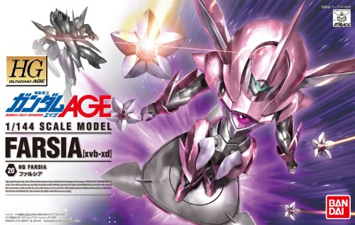 Gundam Age : XVB-XD Farsia 1/144 Scale Model Bandai