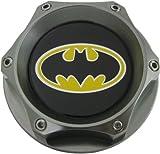 Mazda Batman Oil Filler Cap in Silver Gunmetal Billet Aluminum