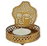 Shagun for you Shadow effect Tealight Candle Holders, Diwali Decor, Corporate Gifting (Buddha)