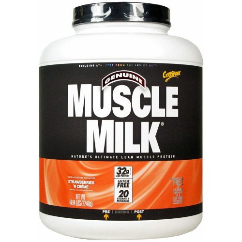 CytoSport Muscle Milk 2240 g Chocolate Whey Protein Shake Powder