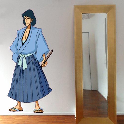 GOEMON FULL COLOR - Adesivi Murali - Wall Stickers - per la decorazione della casa e della cameretta
