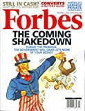 Forbes, November 17, 2008 Issue