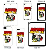 Danger Mouse & Mighty Mouse cover case for Apple iPhone 4 - 4S - T779 - Danger Mouse & Penfold - Black