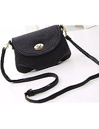 2016 Brand Mini Black Women's Messenger Bag Leather Handbags Shoulder Bags Crossbody Ladies Casual Cover Zipper...