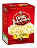 nbacher&#39;s Gourmet Microwavable Popcorn, Butter, 36-Count Packs: Amazon.com