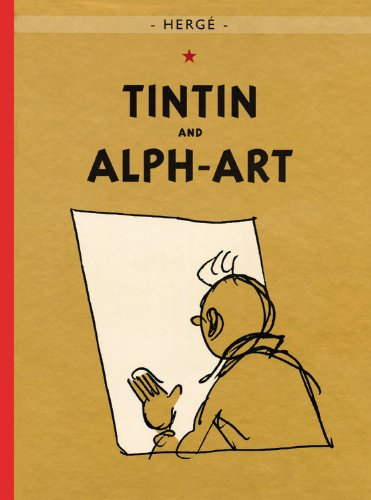 Tintin and Alph-Art (Tintin, #24)