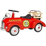 Morgan Cycle Fire Engine ScootSter Riding Toy