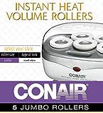 Conair Instant Heat Volume Rollers, White