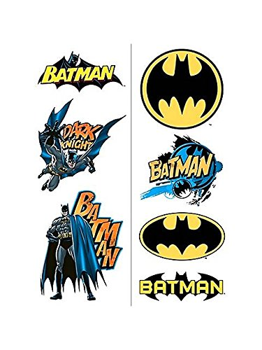 BatmanTM Heroes Temporary Tattoos - 1