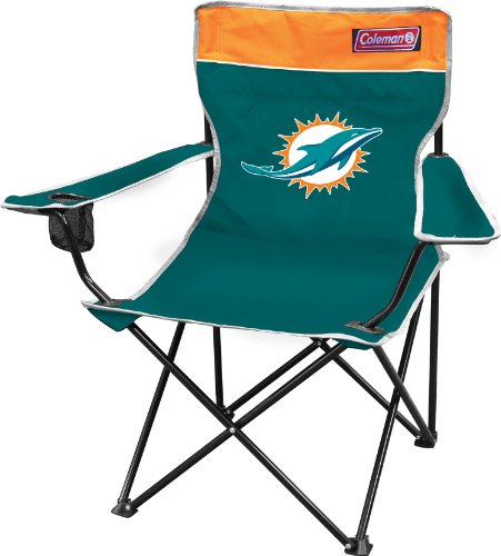 NFL Miami Dolphins Coleman Folding Chair With Carrying Case at Amazon.com