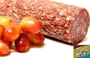 Zoe's Meats Uncured Salami 2lb Stick