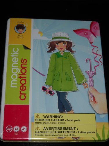 Magnetic Creations Magnetic Paper Doll Set: Weather - 1