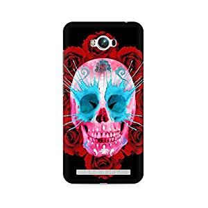 Mobicture Skull Art Premium Printed Case For Asus Zenfone Max