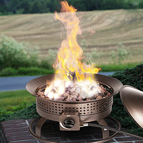 Argo-Furniture-Portable-Outdoor-Patio-Propane-Gas-Fire-Pit-Fire-Bowl-Campfires-RV-Fireplace-with-Fire-Pit-Cover-Hose-and-Rocks-Smokeless-MAX-BTU-54000