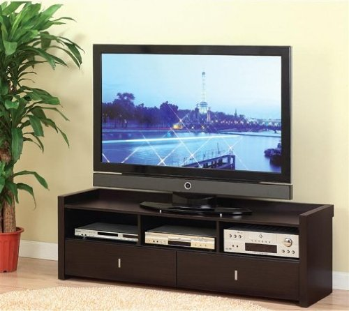Image of Enitial Lab 29303 Novelty 60 in. TV Console-Entertainment Cabinet (B007W940KI)