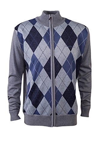 pierre-cardin-mens-new-season-zip-through-argyle-knitted-cardigan-xl-grey-blue