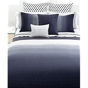 Vera Wang Bedding, Dip Dye Dot King Duvet Cover NEW (Clearance)