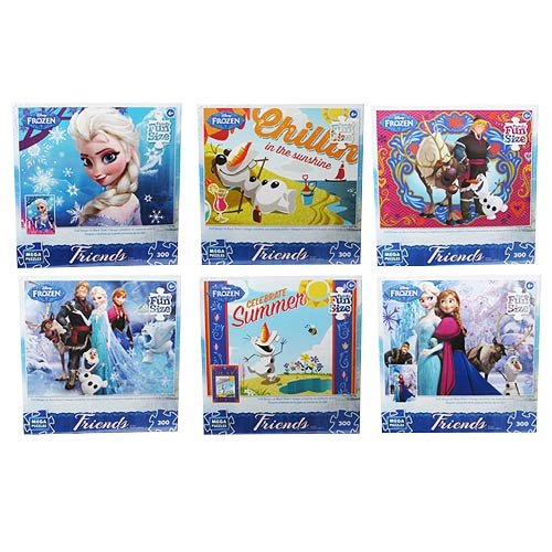 Disney Frozen Friends Puzzle (300 pieces)-Assorted [Choices may vary]