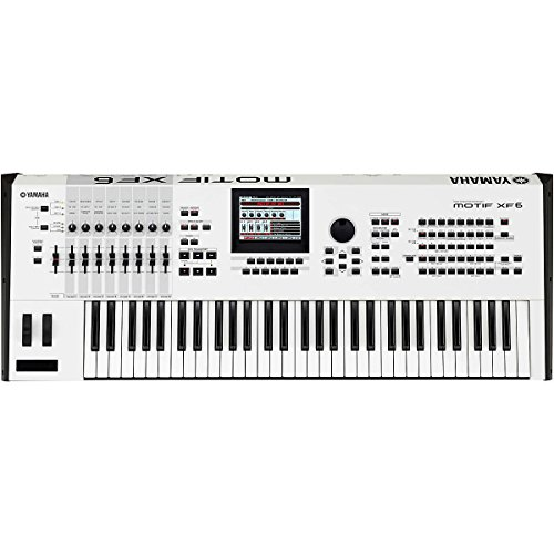 Find Bargain Yamaha MOTIFXF6 WH 61-Key Music Production Synthesizer, White
