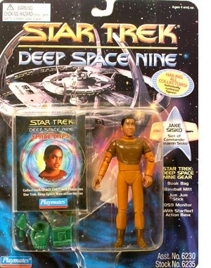 "Star Trek Deep Space Nine Jake Sisko 4.5"" Action Figure"