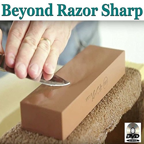 Beyond Razor Sharp Blade & Knife Sharpening Training DVD, How To Sharpen Almost Anything. Learn The Skills To Create The