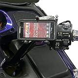 Leader Motorcycle Accessories スマートフォン&GPSマウント eCADDY TRI-GRIP 全年式 GL1800 クローム ETG-GW 0603-0505
