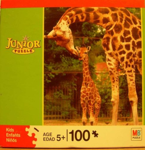 M.Bradley 100 Pc Jr Jigsaw Puzzle *