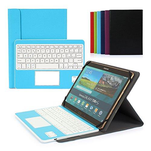CoastaCloud-Bluetooth-30-Tastiera-Cassa-per-Samsung-Galaxy-Tab-101-Pro-Tablet-con-QWERTY-Italiano-Layout-Smontabile-Tastiera-e-touchpad-Compatibile-con-96-106-pollici-Qualsiasi-Android-Windows-Tablet