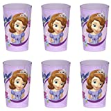 Zak Designs Disney's Sofia The First Tumbler, 10-Ounce, set of 6