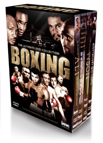The Definitive Boxing Legends 4 DVD Box Set - Fabulous Four Hagler, Hearns, Leonard & Duran - Tyson - Muhammad Ali and The History of Heavyweight Boxing (Joe Frazier, Rocky Marciano, Joe Louis, Michael Spinks, Larry Holmes and George Foreman)