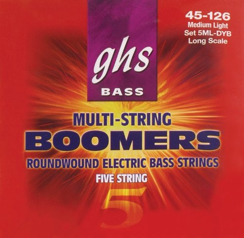 GHS Bass Boomers 5ML-DYB - .045-.126