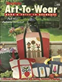 img - for Simplicity Art-To-Wear Bags & Totes to Decorate: Full Size Patterns Included book / textbook / text book