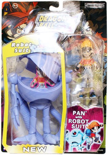 Picture of Jakks Pacific Dragon Ball GT Action Figure: Pan with Robot Suit (5 in) - Series 3 (B003T9DCIQ) (Dragon Ball Action Figures)