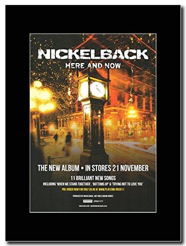 Nickelback-Here Now Magazine & Promo su un supporto, colore: nero