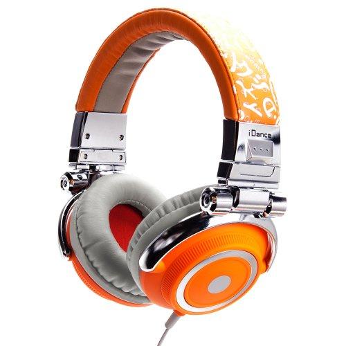 Idance Disco600 -Watt -Channel Recording Studio Equipment , Orange And Gray