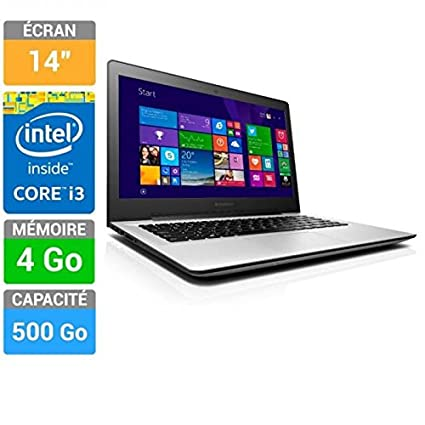 Lenovo - Lenovo PC Portable Ideapad U41-70 Core i3 14""