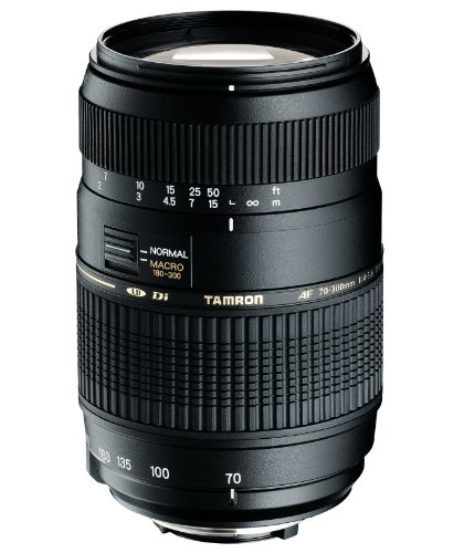 Tamron AF 70-300mm F/4-5.6 Di LD Macro 1:2 Lens for Canon Black Friday & Cyber Monday 2014