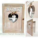 Shabby Chic Key Box Holder Hanger Wooden Hand Made