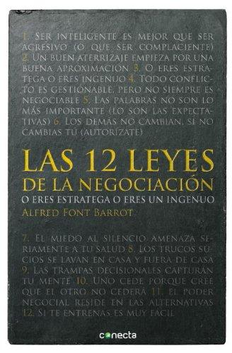 LAS 12 LEYES DE LA NEGOCIACION