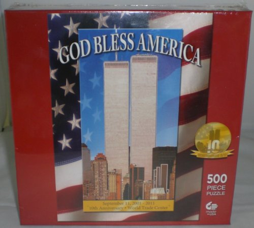 God Bless America Puzzle: 500 Pcs