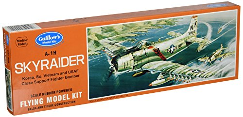 Guillow's Douglas A-1H Skyraider Model Kit