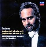 ブラームス:交響曲第3&4番