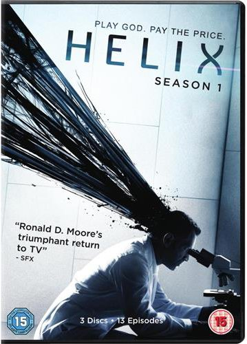 Helix Season 1 (DVD - 2014) NON-USA FORMAT, PAL, Reg.2 Import - United Kingdom (Helix Season Two compare prices)