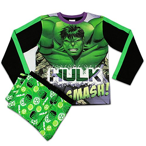 Character Boys' Marvel Avengers The Hulk Pajamas Size 10 front-839132