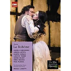 ゲオルギュー(ソプラノ)、ルイゾッティ指揮 プッチーニ:歌劇《ラ・ボエーム》METライヴのAmazonの商品頁を開く