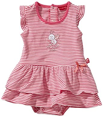 SALT AND PEPPER Baby - Mädchen Bekleidungsset Gestreift 3924209, Gr. 50, Pink (candy pink)