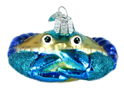 Old World Christmas Blue Crab Ornament